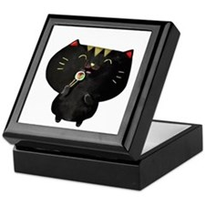 Black Sushi Cat Keepsake Box