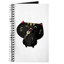 Black Sushi Cat Journal