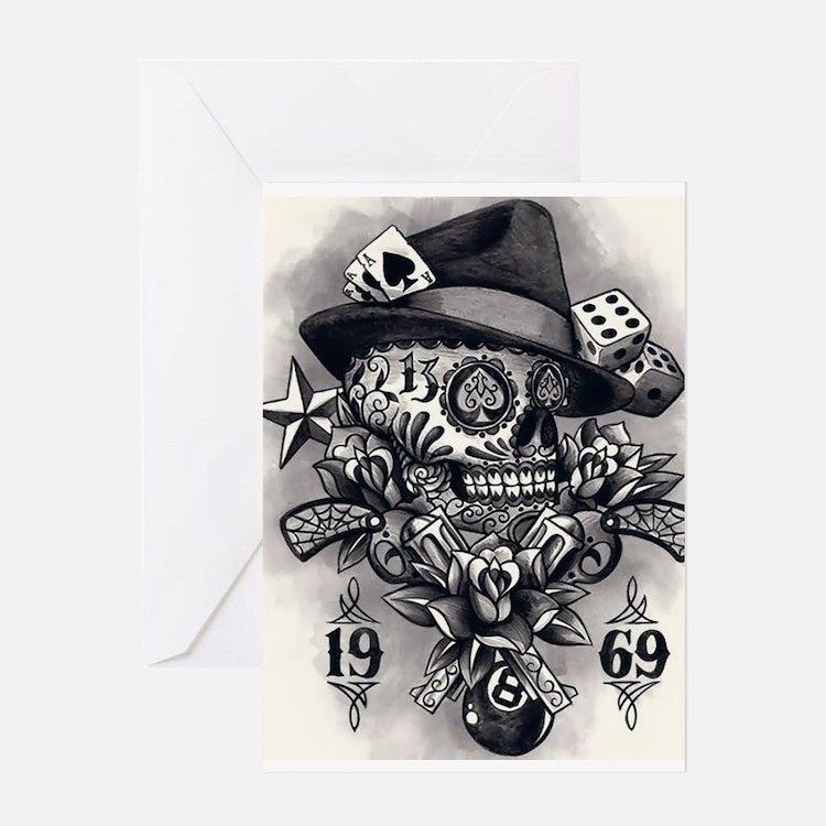 Tattoo Greeting Card