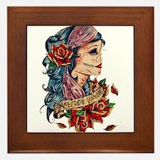 Tattooed Framed Tile