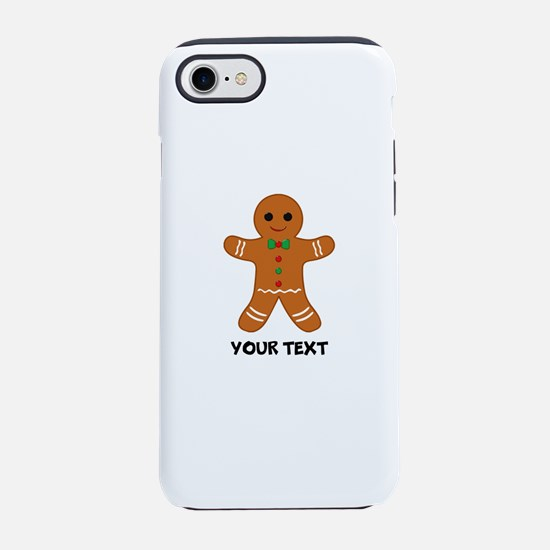 Personalized Gingerbread Man iPhone 7 Tough Case