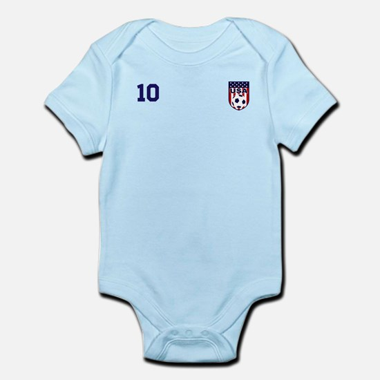 Custom USA Soccer T-Shirt Jersey Body Suit