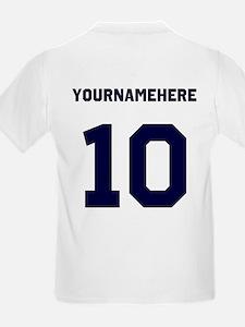 Custom USA Soccer T-Shirt Jersey T-Shirt