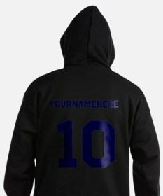 Custom Soccer T-Shirt with name and nombers Hoodie
