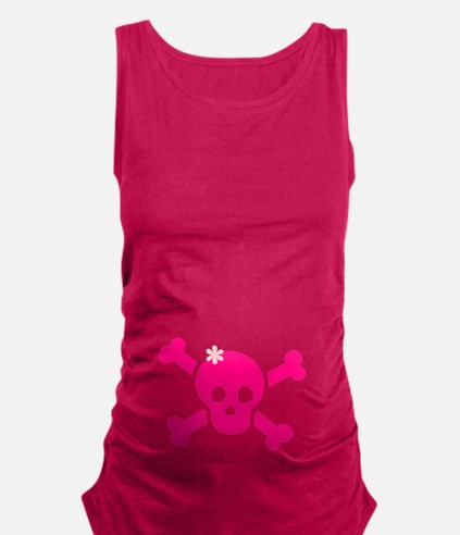 Pirate Girl.png Maternity Tank Top
