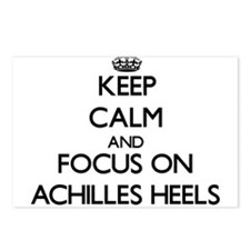 Keep Calm And Focus On Achilles Heels Postcards (P