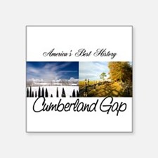 "ABH Cumberland Gap Square Sticker 3"" x 3"""