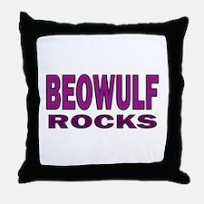 Beowulf Rocks Throw Pillow