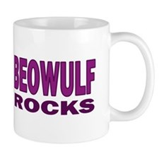 Beowulf Rocks Small Mug
