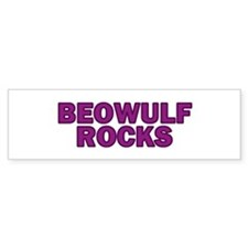Beowulf Rocks Bumper Bumper Sticker