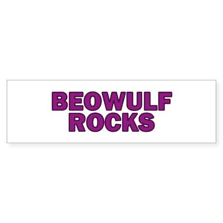 Beowulf Rocks Bumper Sticker