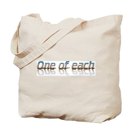 Twins - one of each Tote Bag