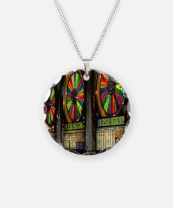Las Vegas Slot Machines Necklace