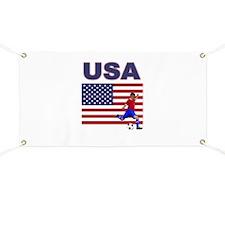 USA soccer Banner