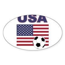USA soccer Decal