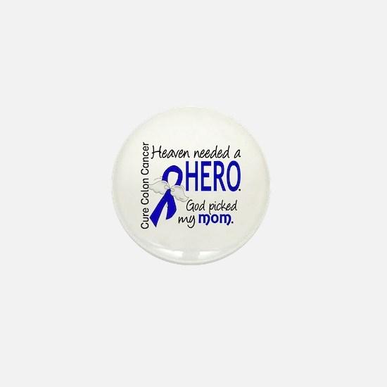 Colon Cancer HeavenNeededHer Mini Button (10 pack)