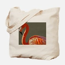 Funny Pink flamingo decor Tote Bag