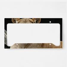 Unique Lion head License Plate Holder
