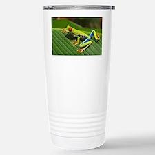 Cute Frog illustration Travel Mug