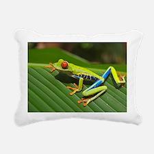 Cute Tree frog Rectangular Canvas Pillow