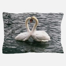 Cute Peace love swimming Pillow Case