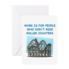 ROLLER1 Greeting Cards