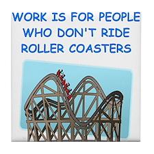 ROLLER1 Tile Coaster