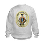 USS DAVID R. RAY Kids Sweatshirt