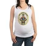 USS DAVID R. RAY Maternity Tank Top