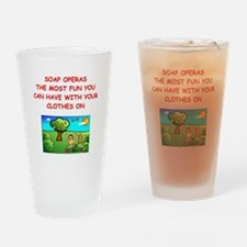 SOAP Drinking Glass