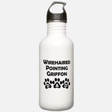 Wirehaired Pointing Griffon Dad Water Bottle