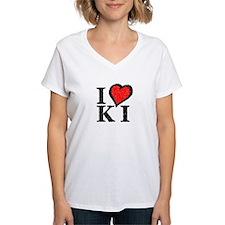 Women's V-Neck KI T-Shirt