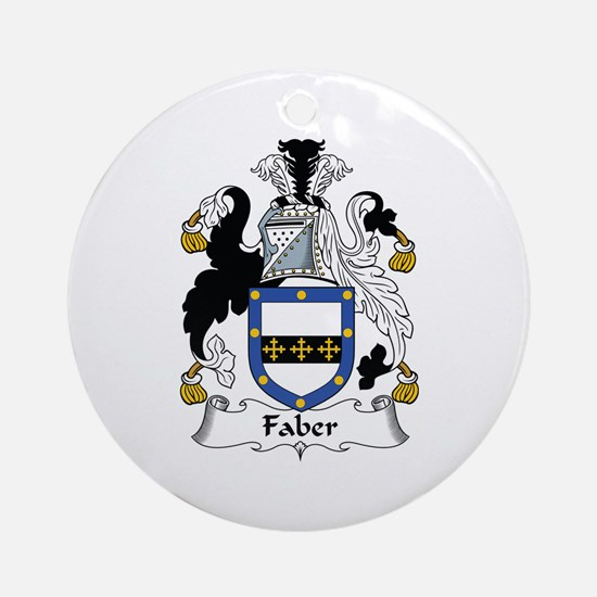 Faber Ornament (Round)