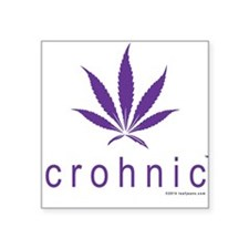 Crohnic - Cure for Crohns - Print Lights Sticker
