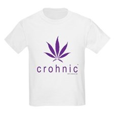 Crohnic - Cure for Crohns - Print Lights T-Shirt