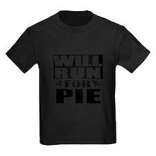 Run for Pie (Black) T-Shirt