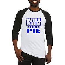 Run for Pie (Blue) Baseball Jersey