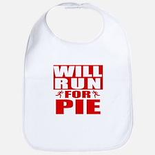 Run for Pie (Red) Bib