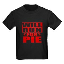 Run for Pie (Red) T-Shirt