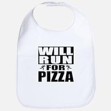 Run for Pizza (Black) Bib