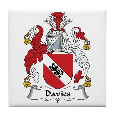 Davies Tile Coaster