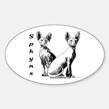 Unique Sphynx cat lover Decal