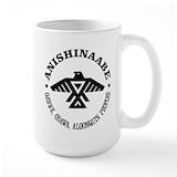 Anishinaabe Large Mugs (15 oz)