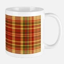 Pizza Plaid Mug