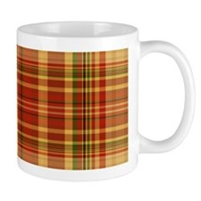 Pizza Plaid Small Mug