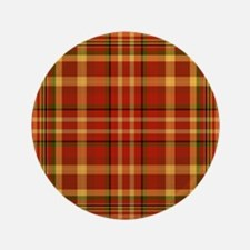 "Pizza Plaid 3.5"" Button"