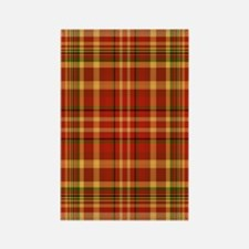 Pizza Plaid Rectangle Magnet (10 pack)