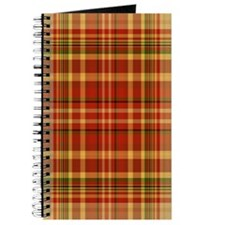 Pizza Plaid Journal