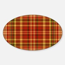 Pizza Plaid Decal