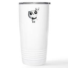 Cute Panda with Balloon Travel Mug